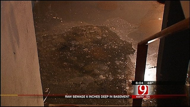 Sewage Problem Confronts OKC Landlord And Tenant
