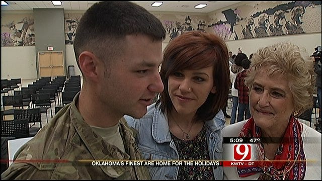 Oklahoma Soldiers Home For The Holidays