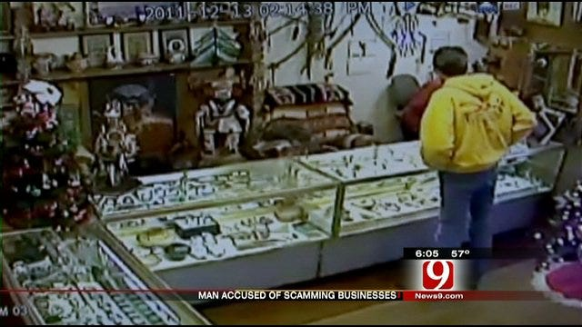 Metro Businesses Fall Victim To Alleged Con Artist