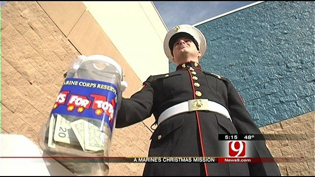 Oklahoma Marine's Mission Is To Give Back