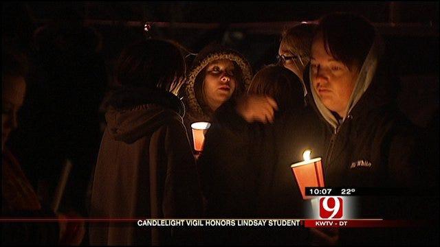 Candlelight Vigil Held For Lindsay Teen Killed In Crash