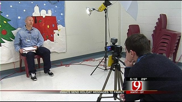 Oklahoma Incarcerated Parents Connect With Children Through Video Project