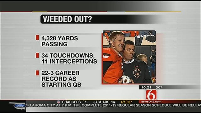 Brandon Weeden Left Out Of Heisman Invites