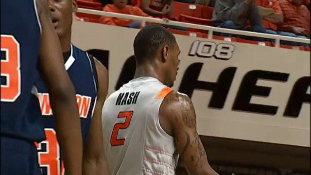 Oklahoma State Tops Langston University