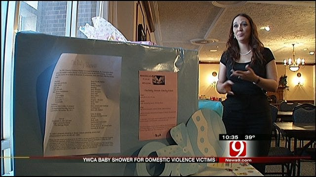 Mother Hosts Special Baby Shower For OKC Domestic Violence Victims