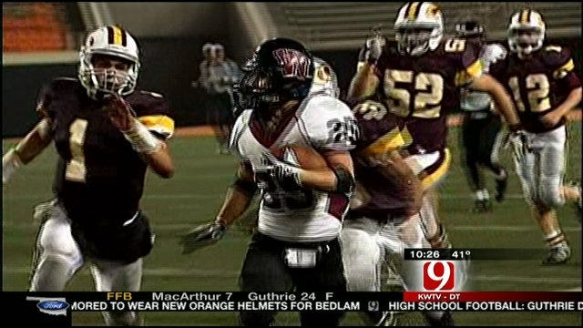 Wagoner Shuts Out Clinton To Win First Ever Gold Ball