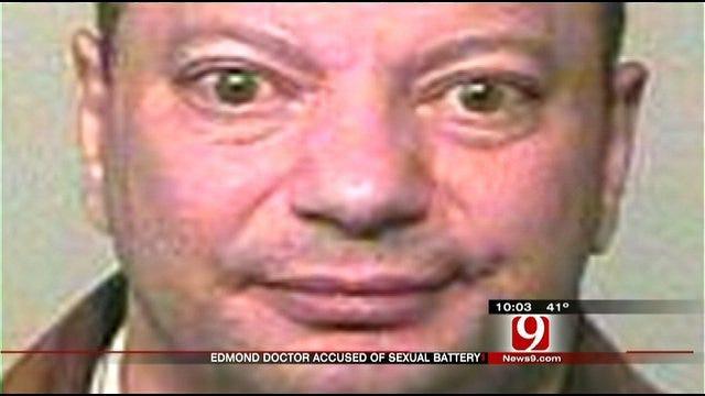 Edmond Doctor Arrested On Sexual Harassment Complaints