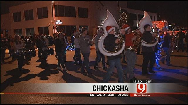 Chickasha Festival Of Lights Parade