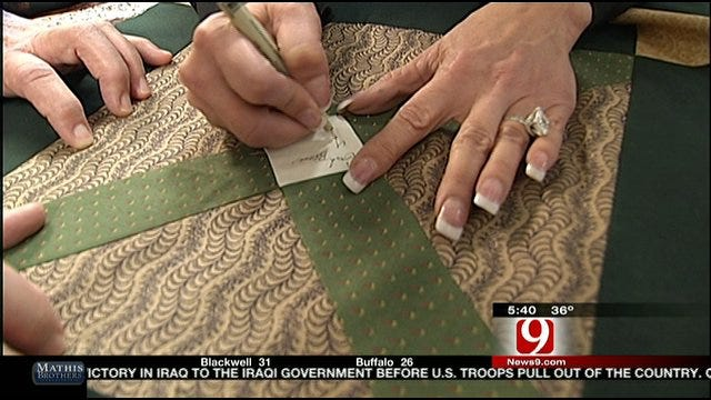 Chickasha Quilters Say Blankets Wrap People In Love