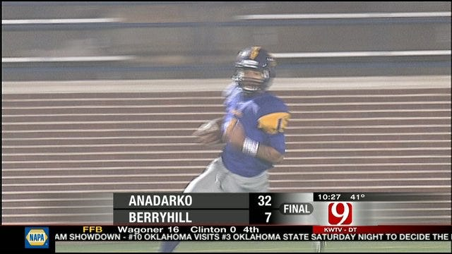 Sheldon Wilson Carries Anadarko Into Championship Game