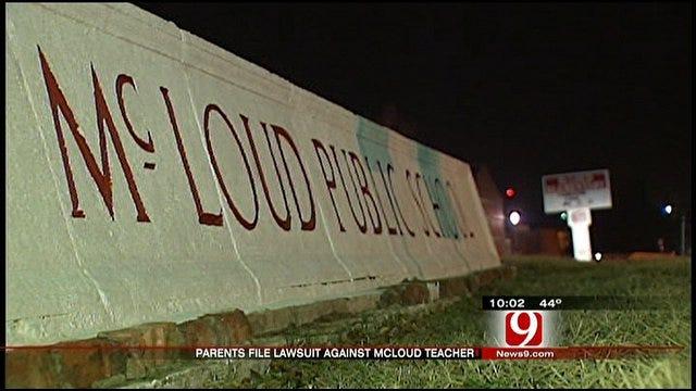 Families File Suit Against McLoud Teacher