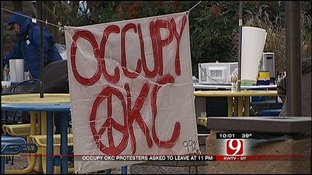 OKC Officials Say Time's Up For Protesters 'Occupying' Kerr Park