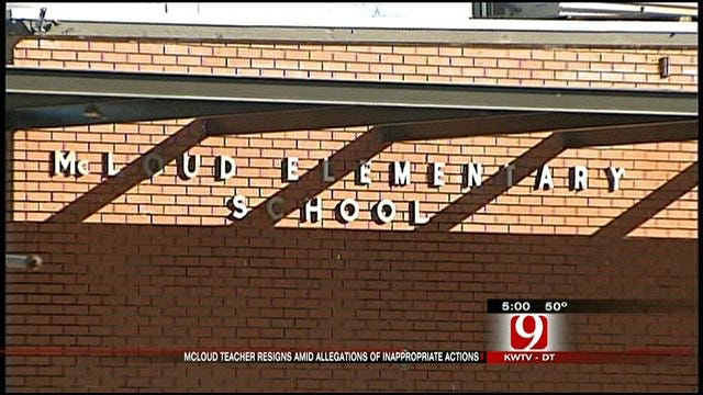 McLoud Teacher Accused Of Putting Students In Lingerie Resigns