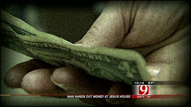 Good Samaritan Gives Cash To Jesus House Residents