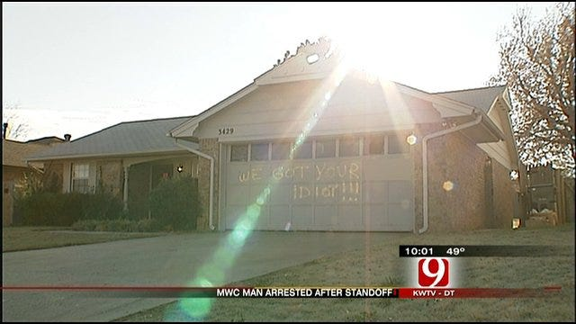 Midwest City Standoff Ends