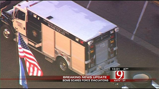 Bomb Scares Keep Metro Police Busy