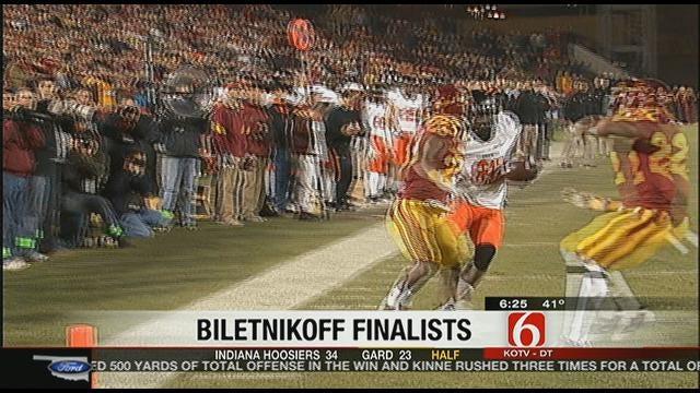 Blackmon, Broyles Named Biletnikoff Finalists