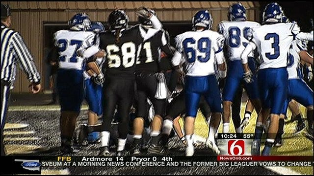 Berryhill Advances To Quarterfinals With 28-21 Win