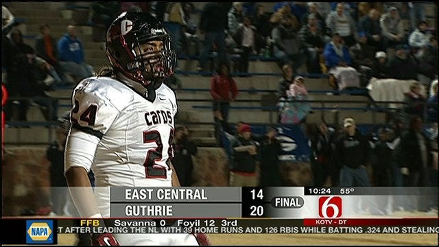 Guthrie Advances To Semifinals With Win Over East Central