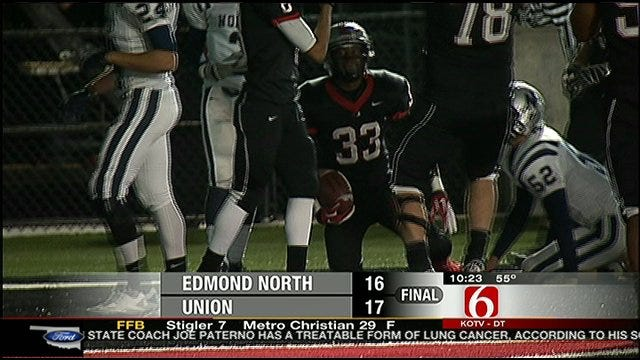 Union Escapes With One-Point Win Over Edmond North