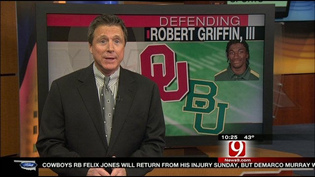 Sooners Focused On Shutting Down Robert Griffin