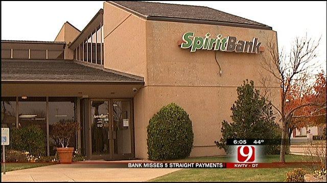 Tulsa-Based Spirit Bank Misses Another TARP Payment