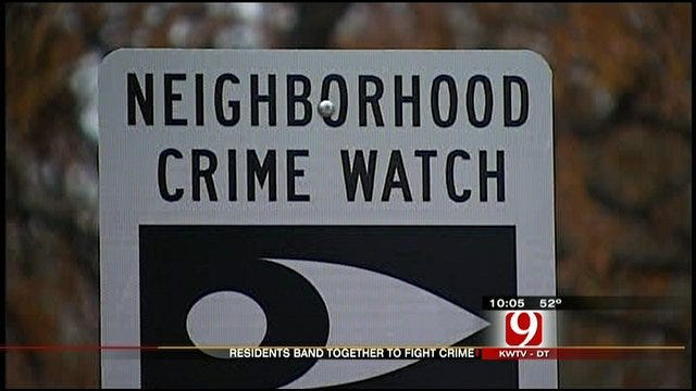 Stopping Crimes In Pott. County, One Sign At A Time