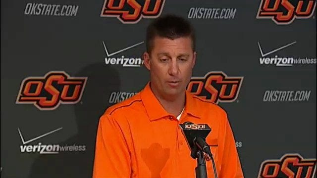 Mike Gundy Press Conference Part 4