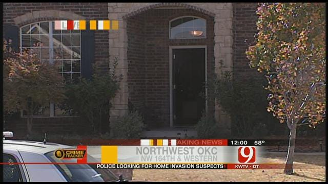 Suspects In Camouflage Invade Northwest OKC Home