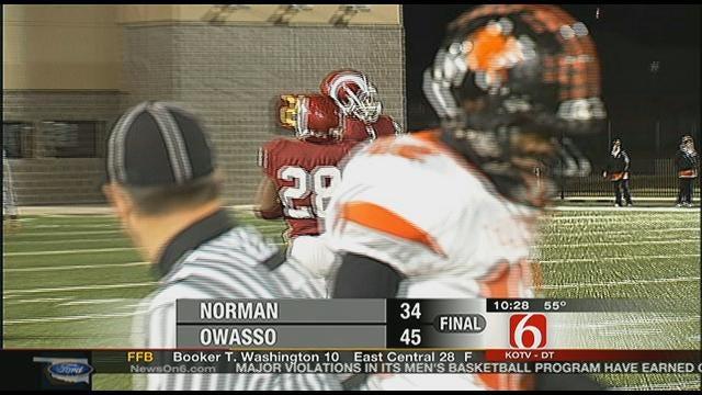 Owasso Overcomes Norman, 45-34