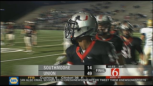 Union Rolls Past Southmoore In First Round