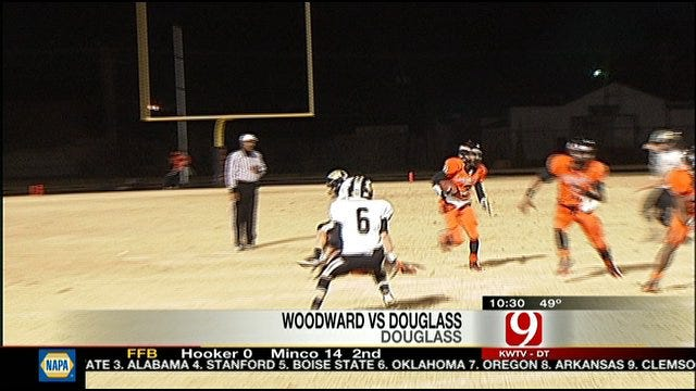 Woodward Knocks Douglass Out In First Round