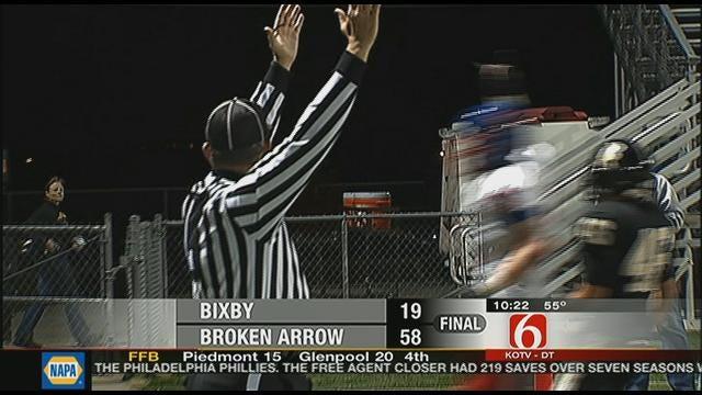 Broken Arrow Blows Out Bixby, 58-19
