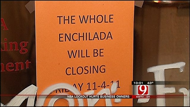 Businesses Take It On The Chin Due To Lockout