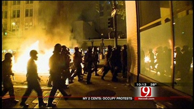 My 2 Cents: 'Occupy' Movement Turns Ugly