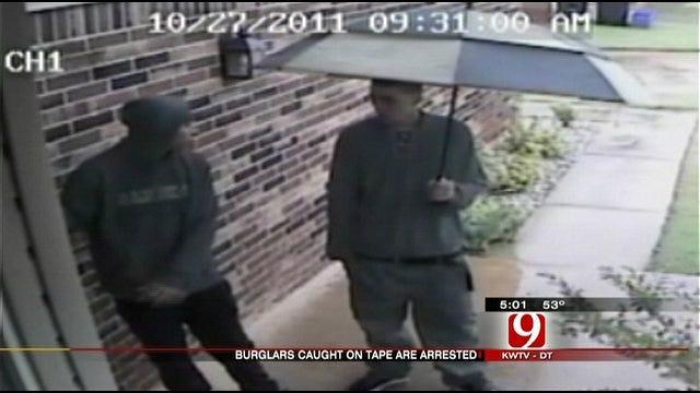 Surveillance Video Helps Police Catch Burglars