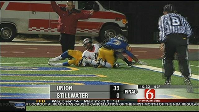 Union Wins District Title With Shutout Of Stillwater