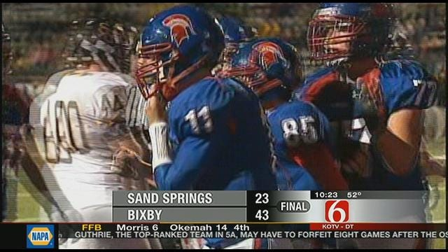 Bixby Earns Playoff Spot With Win Over Sand Springs