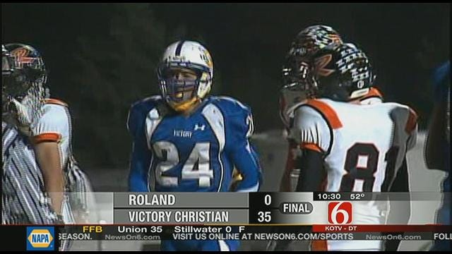 Victory Christian Finishes Regular Season With Blowout
