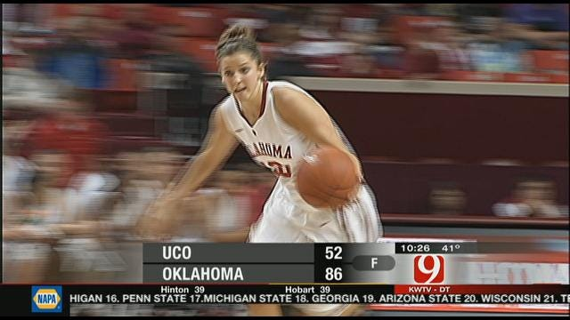 Oklahoma Tops UCO In Opener