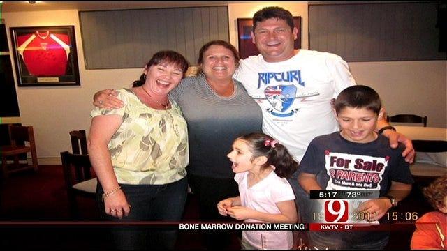 Oklahoma Marrow Donor Meets Recipient 'Down Under'