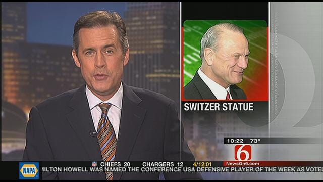 Barry Switzer Statue Will Be Unveiled Saturday