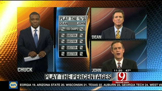 Play the Percentages: Oct. 30, 2011