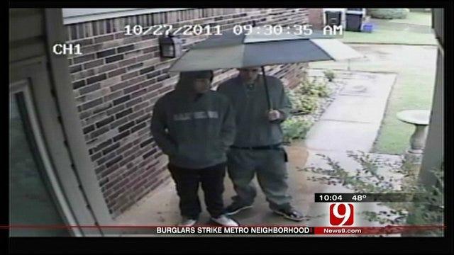 Security Cameras Capture Video Of OKC Burglary Suspects