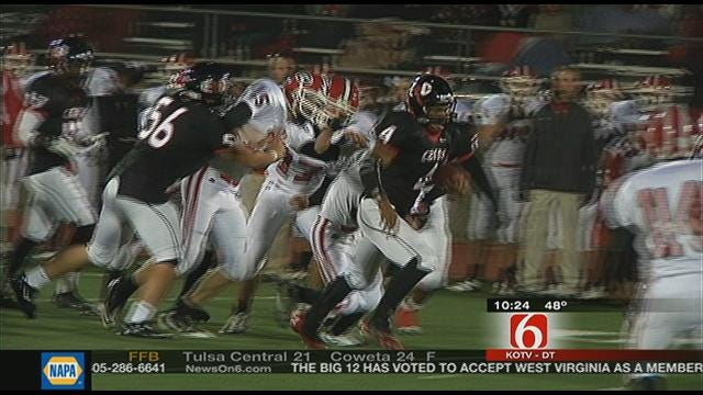 East Central Blows Out Grove, 57-10