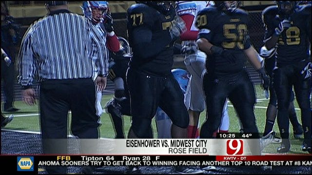 Midwest City Stays Perfect With Blowout Of Eisenhower