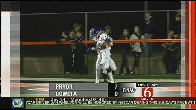 Pryor Beats Coweta In Defensive Struggle