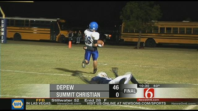 Depew Shuts Out Summit Christian, 46-0