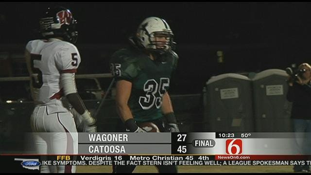 Catoosa Wins Battle Of Unbeatens With Wagoner