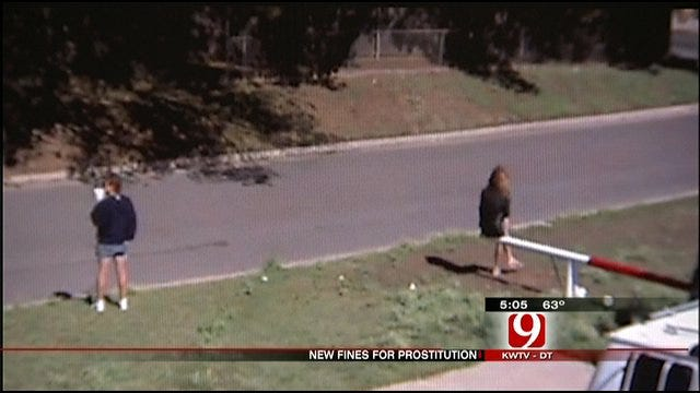 OKC Police Seek New Fines For Prostitution